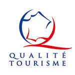 Logo du label Qualité Tourisme - Château de Montpoupon